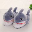 Cotton slippers Plush Cartoon Shark Slippers Cute Warm Comfortable Antiskid for Adult