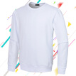 Men's Fleece Crewneck Sweatshirt Solid Color Long Sleeve Pullovers