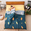 Hierro Mystery Travel Dirty Cotton Sleeping Bag Hotel Dirty Sheets Portable Single Double Quilt Cover Travel Business Dirty Covers Doraemon 200 * 210cm