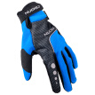 NUCKILY Cycling Gloves Full Finger Waterproof Breathable Polyester Fabric Motorcycle Glove for Adults
