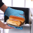 Professional Oven Mitts, Heat Resistant Oven Glove with Quilted Liner for Extra Protection