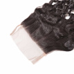 BHF Hair 7A Grade Virgin Unprocessed Human Hair Afro Kinky Curly Brazilian Hair Weave Bundles With Lace Closure