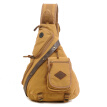 2015 Fashion Men Bags Canvas Chest Diagonal Package Messenger Shoulder Bag Waterproof Sport Casual Running Outdoor Back Pack