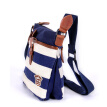 TSD 2017 Women Handbags Shoulder Bags Lady Striped Navy Wind Pillow Single Strap canvas Versatile Bags navy striped scarf wind bag