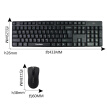 ViewSonic ViewSonic CW1260 2.4G wireless mouse and keyboard set (black) silent version