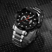 NAVIFORCE 9085 Quartz Man Watch Unique Fashion Sport Casual Brand Clock Army Military Business Original Movement Stainless Steel 5