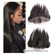Pre Plucked Lace Frontal Peruvian Virgin Hair Straight 13x4 Ear to Ear Lace Frontal With Baby Hair