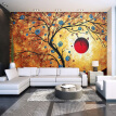Custom Photo Wallpaper Abstract Tree Modern Art Wall Painting Living Room Bedroom TV Backdrop 3D Large Mural Wallpaper For Home