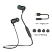 Hongsund HB801 Magnetic Wireless Earphones Sport Running Bluetooth Headsets with Mic Stereo Headphones For iPhone Xiaomi Android