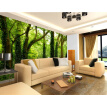 Custom photo wallpaper Large mural 3D green tree forest wallpaper living room sofa TV background wall wallpaper mural