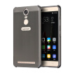 Luxury Case for Lenovo K5 Note Aluminum Bumper+Acrylic Panel Back Glossy Business Cover for Lenovo Vibe K5 Note Pro