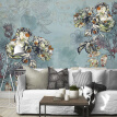 Custom 3d mural wallpaper Personality Abstract living room wallpaper European Style Floral Wall Painting retro wallpaper