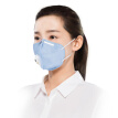 3M mask KN95 anti-fog pollen anti-swallow anti-flu mask dust particles protective ear strap type exhalation valve anti-PM2.5 9501C dream blue (3 / bag)