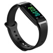 Demon MOONPI smart bracelet B11 color touch heart rate and blood pressure sleep monitor large screen WeChat content display call reminder more exercise mode magic black