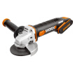 WORX Cordless Angle Grinder WX802 Household Lithium Electric Cutting Machine Angle Grinding Machine Grinding Machine Hand Grinder Polishing Machine Hardware Power Tools