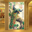 Chinese Wallpaper Classic Peacock Photo Mural Living Room Hotel Entrance Hall European Style Decor Wall Paper Papel De Parede 3D