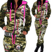 2017 New Women' Fashion 2 Parts Hooded Sweatshirt and Pants Set