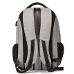 BOSTANTEN men's casual business laptop computer 15-inch bag men's school bag backpack B6174141 dark gray