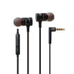 Hongsund ES-70TY In-Ear Earphone Metal Headphones Stereo Headset Heavy Bass Sound Ecouteur Fone De Ouvido Auriculares Audifonos