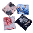 DIANXIA New Brand Women Scarf Twill Cotton Shawl Pashmina Print Floral 4 Color With Tassel Lady Winter Hot Sale 110*180CM