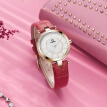 New  Luxury Brand Watches Women Elegance casual Ladies quartz wrist watch Leather strap Waterproof 100m #6603