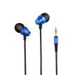 Hongsund Q6 Wired Headphone Stereo In-Ear Earphone Super Bass HIFI Sound Headset For Noise Canceling Headphone Phone fone de ouvid