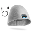 Wireless Bluetooth Beanie Hat Built-In Headphones Headset Winter Warm Smart Cap W/Microphone For Smart Cell Phone iPhone Samsung