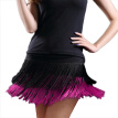 Adult Lady dance dance skirt women's double tassel Latin dance skirt fringed skirt contains