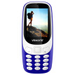 Vkworld Z3310 Quad Band Unlocked Phone 2.4 inch 3D Arc Screen Spreadtrum 6531 Bluetooth 2.0MP Camera FM 1450mAh Battery