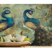 Photo wallpaper Southeast Asia peacock wallpaper mural retro living room bedroom coffee room TV background wallpaper mural