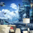 HD Fantasy Creative Mural Star Wars Science Fiction Photo Wallpaper Kid's Bedroom Living Room 3D Non-Woven Papier Peint Enfant