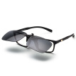 EYEPLAY Sunglasses Clips Treasure Island Glasses Men and Women Myopia Glasses Black Gray Polarized Driver Driving Driving Mirror Project JP1316-C08