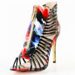 Roman style sandals women  fashion high heels wedding party shoes for women lady sandals plus size x161019