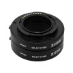 Meike MK-S-AF3-B Plastic Extension Tube Close Shot Adapter Ring Lens for Auto Focus Sony NEX Micro DSLR (10mm, 16mm) E-Mount Cam