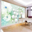 Custom Mural Wallpaper Modern 3D Abstract Art Transparent Flower Wall Painting Living Room TV Background Wallpaper Home Decor