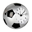 Han Shi (Hense) creative children's alarm clock student mute bedside clock fashion personality alarm table cartoon music clock football shape small table clock HA09 silver
