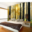 Custom 3D Natural Scenery Mural Wallpaper Forest Under the Sunshine Beautiful Scene Wall Paper For Living Room TV Sofa Backdrop