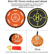 startrc mavic pro landing pad 80cm parking apron fast foldable with reflective light for dji spark phantom 3/4 drone accessories