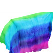 Dance veils Handmade Natural Silk Belly Dance Veils Rose+Purple+Royal Blue+Turquoise+Green 250/270*114 cm Dance Props Silk Veils