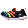 Double Star children's shoes caterpillar children's sports shoes casual shoes boys girls running shoes children's shoes TTM-6365 black 30