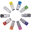 Fillinlight Green Swivel USB Flash Drive USB 2.0 Pen Drive Thumb Drive for Data Storage
