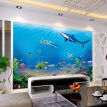 Custom 3D Wall Murals Wallpaper Underwater World Wall Decorations Living Room Bedroom TV Background Modern Photo Wall Paper 3D