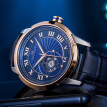 Seagull watches Blue Star Xingyu Fashion Watch Automatic mechanical watch Roman word Blue plate Seagull watch Male table 219.31.1014K