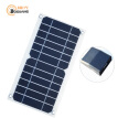 Boguang Waterproof mobile phone iPhone Power Bank semi flexible 5W solar panel cell USB output charger  1A with Voltage Regulator