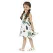 Girls Summer Dress 2018 New Arrival Casual Sleeeveless Dresses For Girls Cotton Loose Print Floral Dress Hot Sale