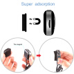 Bluetooth Car MP3 Player Wireless FM Transmitter Car Kit Hands Free Magnetic Base With Dual USB Car Charger for iPhone Samsung