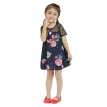 Girls Dress 2018 New Arrival Summer&Spring Casual Dresses For Girl Kids Clothing Cotton Loose Print Patchwork Party Dress