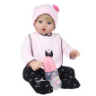 New Design 50cm Silicone Reborn Baby Dolls Boneca Reborn Realista Fashion Dolls For Princess Children Birthday Gift Bebes Reborn