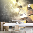 Custom Wall Mural Modern 3D Stereoscopic Abstract Geometric Large Murals Wall Painting Wallpaper For Living Room Bedroom Decor