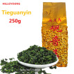 Promotion Vacuum packages Premium Fragrant Type Traditional Chinese Oolong Tea TiKuanYin Green Tea Anxi TieGuanYin Tea 250g